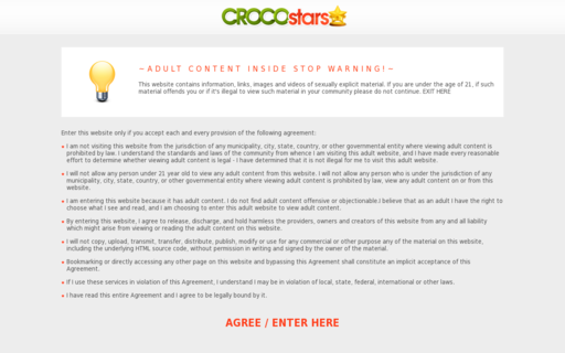 Access crocostars.com using Hola Unblocker web proxy