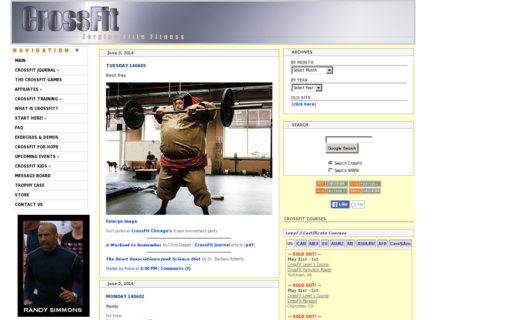 Access crossfit.com using Hola Unblocker web proxy