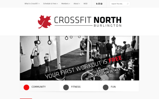 Access crossfitnorthburlington.ca using Hola Unblocker web proxy