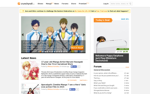 Access crunchyroll.co.uk using Hola Unblocker web proxy