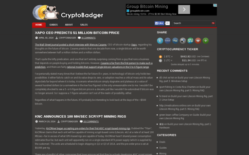 Access cryptobadger.com using Hola Unblocker web proxy
