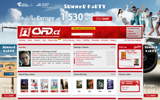 Access csfd.cz using Hola Unblocker web proxy