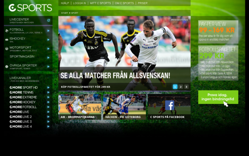 Access csports.se using Hola Unblocker web proxy