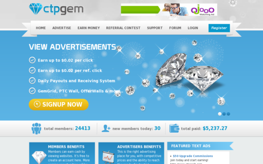 Access ctpgem.com using Hola Unblocker web proxy