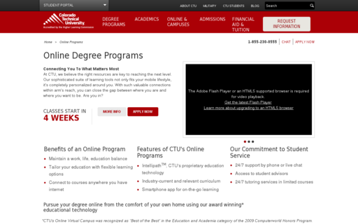 Access ctuonline.edu using Hola Unblocker web proxy