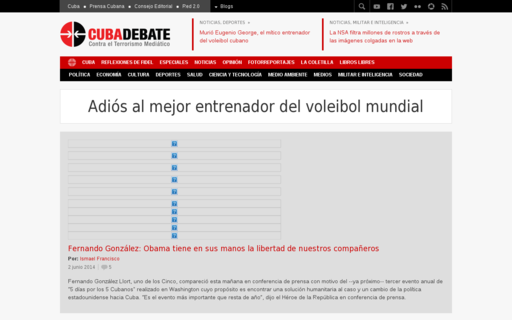 Access cubadebate.cu using Hola Unblocker web proxy