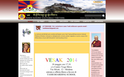 Access culturaletibetana.org using Hola Unblocker web proxy