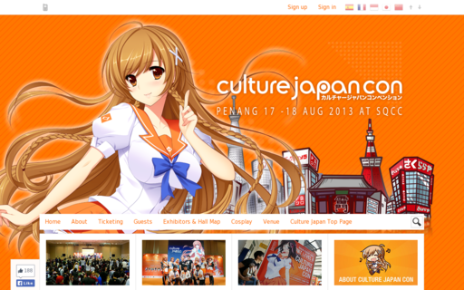 Access culturejapancon.com using Hola Unblocker web proxy