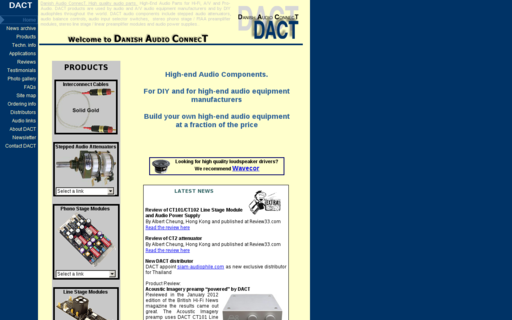Access dact.com using Hola Unblocker web proxy