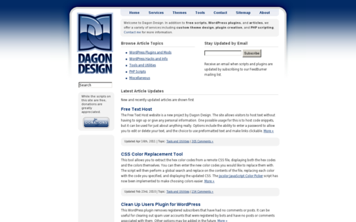 Access dagondesign.com using Hola Unblocker web proxy