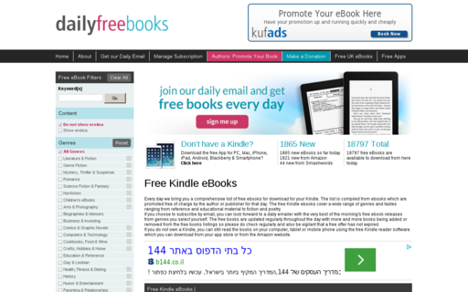 Access dailyfreebooks.com using Hola Unblocker web proxy