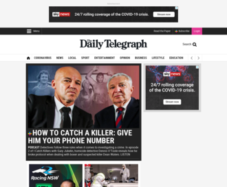Access dailytelegraph.com.au using Hola Unblocker web proxy