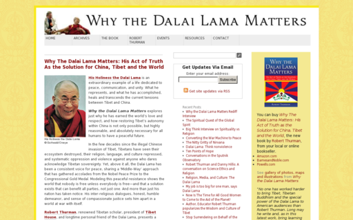 Access dalailamamatters.com using Hola Unblocker web proxy