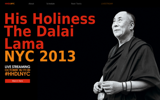Access dalailamany.org using Hola Unblocker web proxy