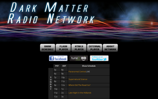 Access darkmatterradio.net using Hola Unblocker web proxy