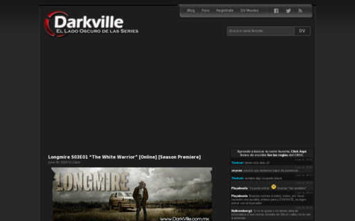 Access darkville.tv using Hola Unblocker web proxy
