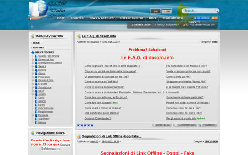 Access dasolo.info using Hola Unblocker web proxy