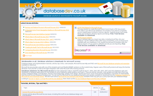 Access databasedev.co.uk using Hola Unblocker web proxy