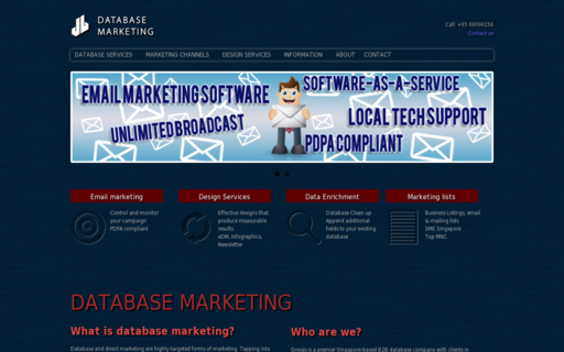 Access databasemarketing.com.sg using Hola Unblocker web proxy