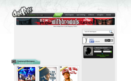 Access datpiff.com using Hola Unblocker web proxy