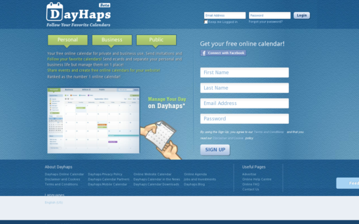 Access dayhaps.com using Hola Unblocker web proxy