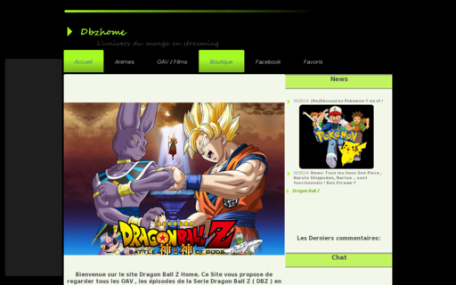 Access dbzhome.net using Hola Unblocker web proxy