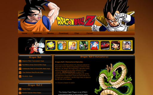 Access dbzremastered.com using Hola Unblocker web proxy