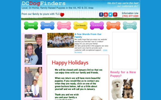 Access dcdogfinders.com using Hola Unblocker web proxy