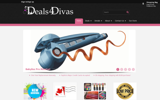 Access deals4divas.ca using Hola Unblocker web proxy