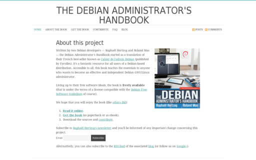 Access debian-handbook.info using Hola Unblocker web proxy