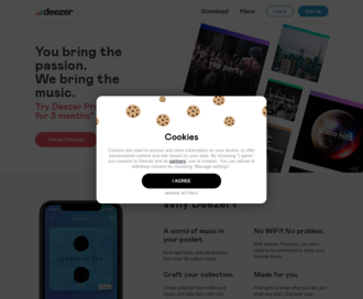 Access deezer.com using Hola Unblocker web proxy
