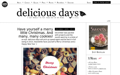 Access deliciousdays.com using Hola Unblocker web proxy