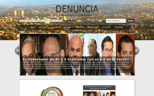Access denunciatijuana.com using Hola Unblocker web proxy