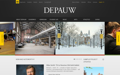 Access depauw.edu using Hola Unblocker web proxy
