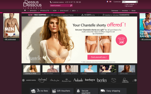 Access dessus-dessous.fr using Hola Unblocker web proxy