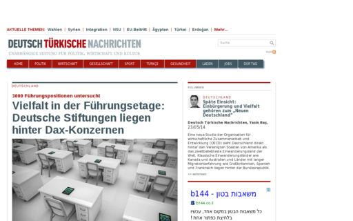 Access deutsch-tuerkische-nachrichten.de using Hola Unblocker web proxy