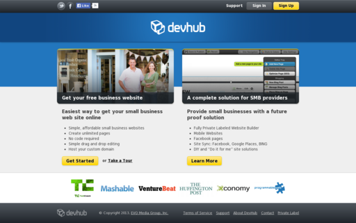 Access devhub.com using Hola Unblocker web proxy
