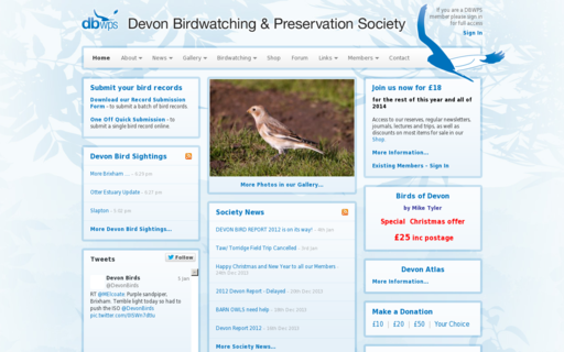 Access devonbirds.org using Hola Unblocker web proxy