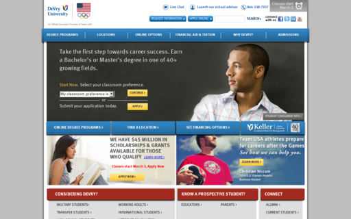Access devry.edu using Hola Unblocker web proxy