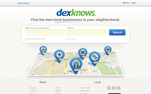Access dexknows.com using Hola Unblocker web proxy