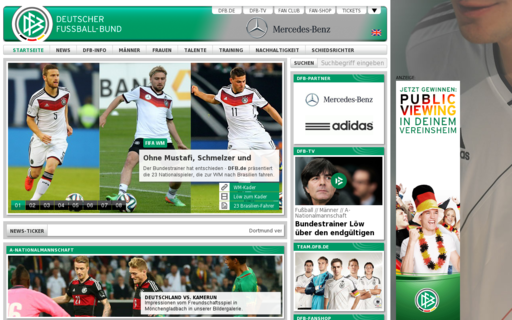 Access dfb.de using Hola Unblocker web proxy