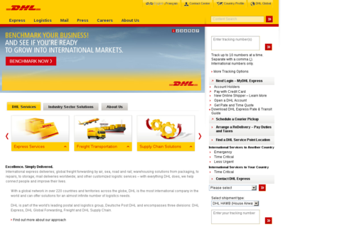 Access dhl.ca using Hola Unblocker web proxy