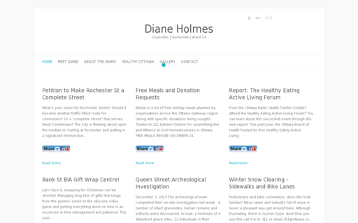 Access dianeholmes.ca using Hola Unblocker web proxy