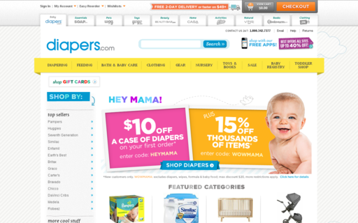 Access diapers.com using Hola Unblocker web proxy