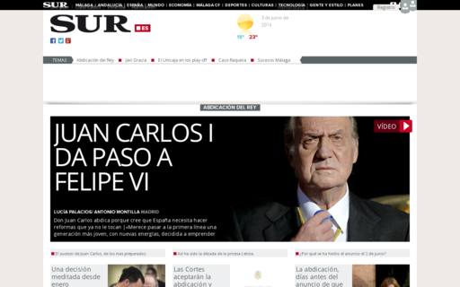Access diariosur.es using Hola Unblocker web proxy