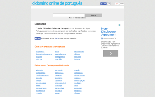 Access dicio.com.br using Hola Unblocker web proxy