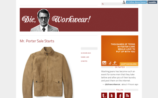 Access dieworkwear.com using Hola Unblocker web proxy