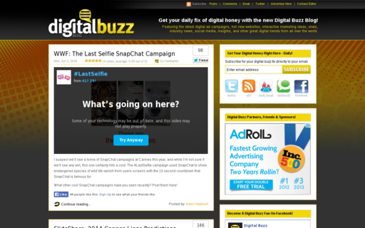Access digitalbuzzblog.com using Hola Unblocker web proxy