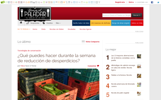 Access directoalpaladar.com using Hola Unblocker web proxy