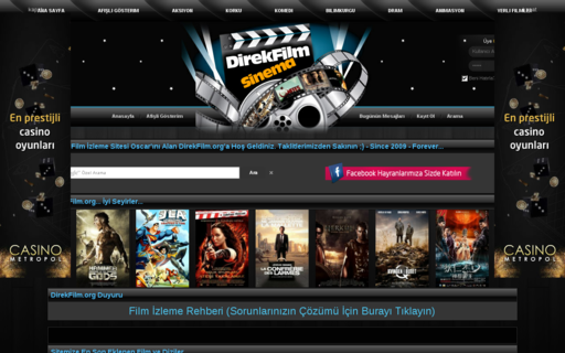 Access direkfilm.org using Hola Unblocker web proxy